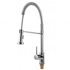 Pull out Type 360 Degrees Rotation Water Faucet Kitchen Water Tap with Dual Function Sprayer