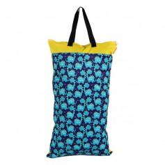 40x70 Waterproof Reusable Large Capacity Diaper Nappy Storage Bag (EF77)