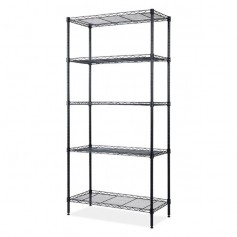 5 Tier Storage Rack Wire Shelving Unit Storage Shelves