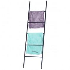Metal Free Standing Bath Towel Ladder Storage Organization Rack