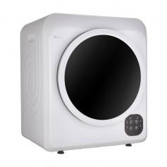 ZOKOP GDZ60-608E Home Button Dryer 6kg Drum Dryer   2 Pieces of Filter Cotton-White