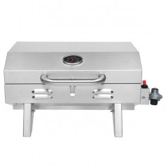 ZOKOP TG-5U Stainless Steel Oven Gas Oven Single Row Square Small Oven