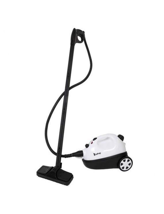 ZOKOP ZSC-1 1500W ETL Certification American UL Plug Stainless Steel Pot Steam Cleaner 19 Accessories - White