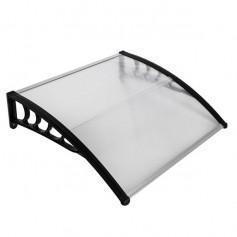[US-W]HT-100 x 100 Household Application Door & Window Rain Cover Eaves Black Holder