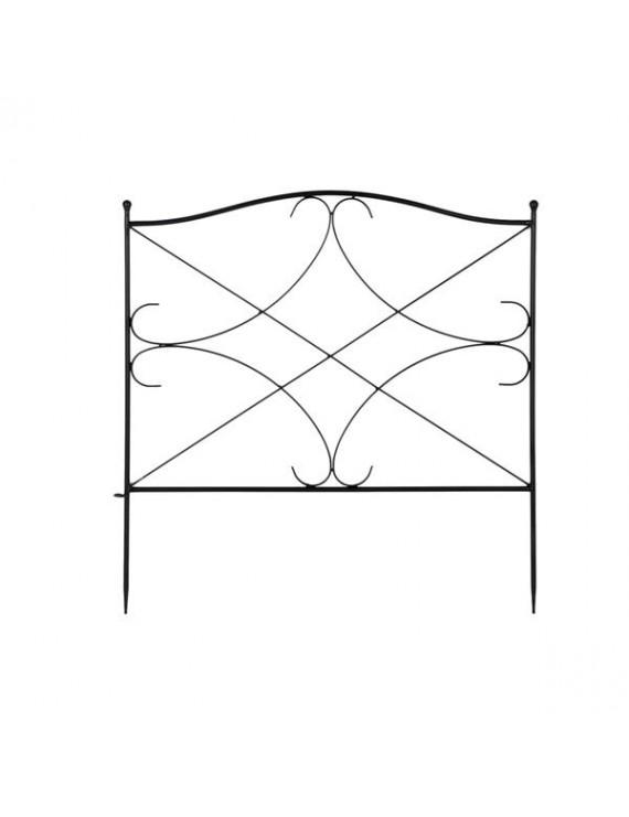 Fashionable And Beautiful Diamond Iron Garden Fence