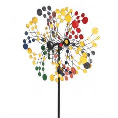 Multicolored Windmill Round Shape