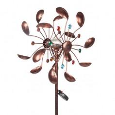 Multicolored Windmill LED Lights Petal Shaped