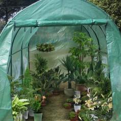 15′x7′x7′ Heavy Duty Greenhouse Plant Gardening Dome Greenhouse Tent